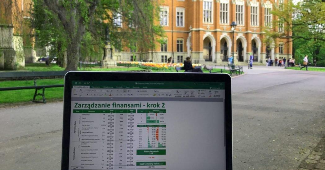 Kraków, Enterprise Startup, Zarządzanie finansami, controlling, model finansowy dla SaaS, modelowanie finansowe, pasja.